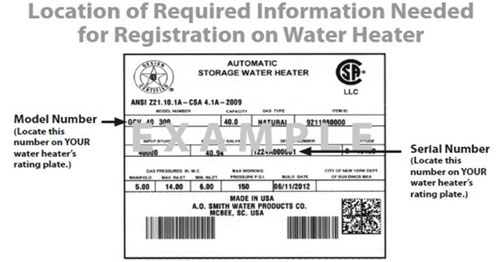 Register Your Whirlpool 174 Water Heater