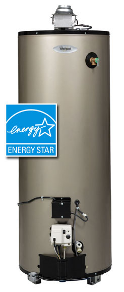 Whirlpool Energy Efficient Gas Water Heater